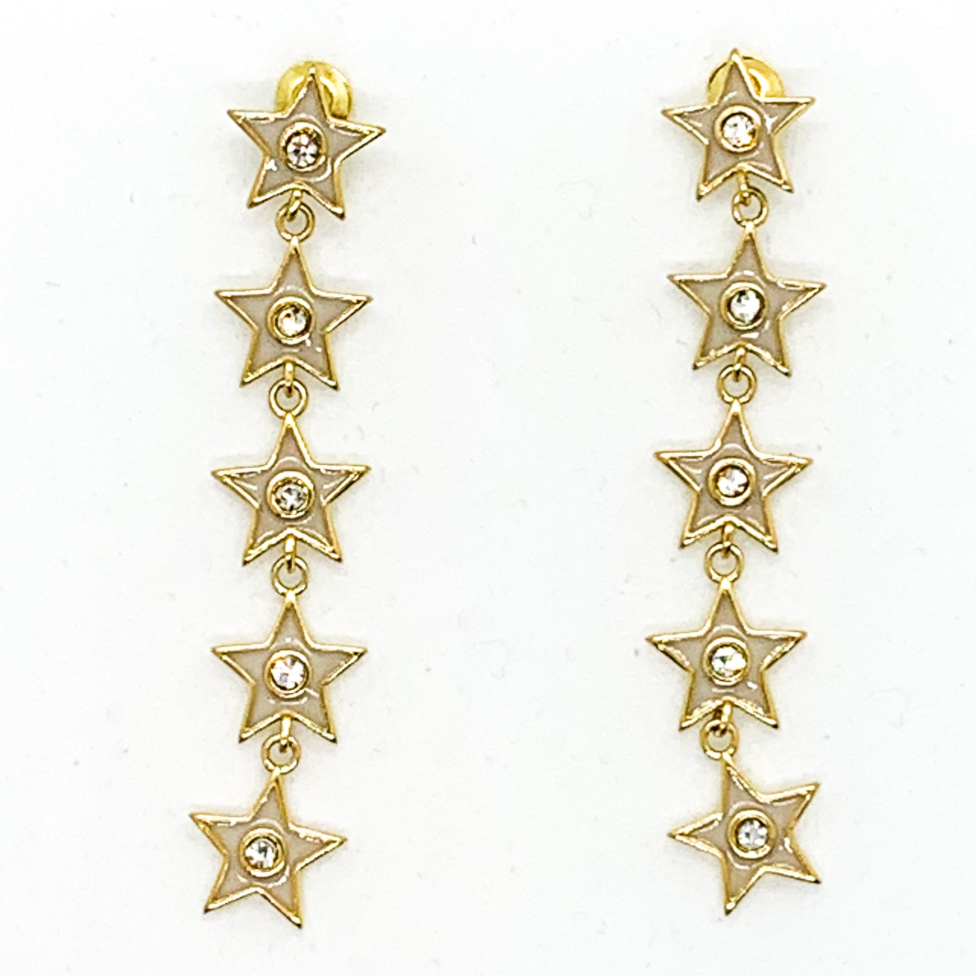 Star of your Life Earrings - Nude