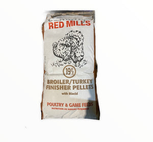 Broiler Turkey Finisher Pellets 19% 25kg