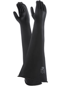 Gauntlet Rubber Gloves