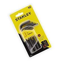 Stanley 10pc Hexkey Set 1.5-10mm