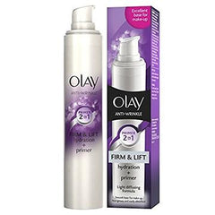 OLAY ANTI WRINKLE FIRM & LIFT MOISTURISER 2-IN-1 HYDRATION + PRIMER