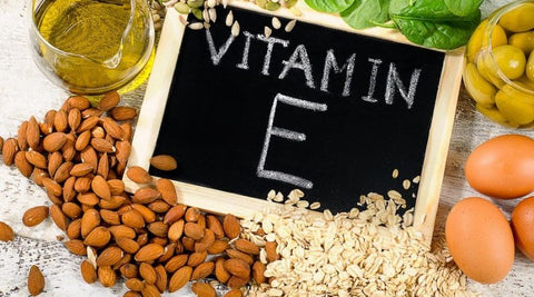 Vitamin E Supplements and Beauty products