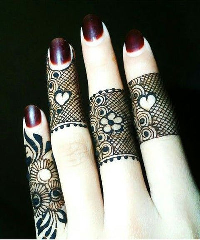 Only Fingers Henna Design