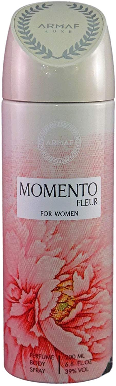 Armaf Momento Fleur Deodorant Body Spray For Women 200 ML - shoper2shoper.com