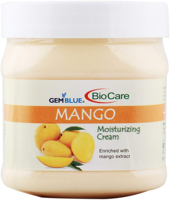 Biocare Gemblue MANGO Moisturizing Cream, 500ml - shoper2shoper.com