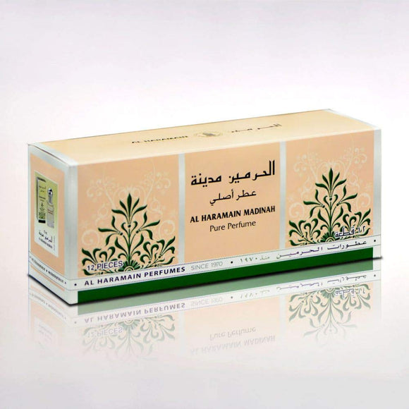 Al Haramain Madinah Perfume, 15ml - shoper2shoper.com
