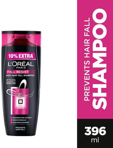 Loreal Paris Fall Resist 3X Anti-Hairfall Shampoo, 360ml (With 10% Extra) - shoper2shoper.com