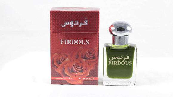 Al Haramain Firdous Perfume Oil (Attar)(15ml) - shoper2shoper.com
