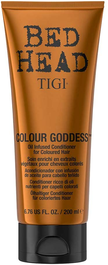 TIGI Bed Head Colour Goddess Oil Infused Conditioner for Coloured Hair 200 ml - shoper2shoper.com