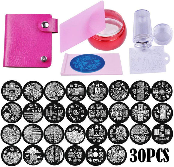 Lifestyle-You Biutee Nail Stamping Kit - shoper2shoper.com