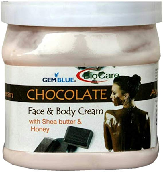 BioCare Chocolate Face & Body Cream-500 ml - shoper2shoper.com