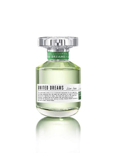 United Colors of Benetton United Dreams Live Free Eau De Toilette, 80ml - shoper2shoper.com