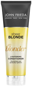 John Frieda Sheer Blonde Go Blonder Lightening Conditioner, 8.3 Ounce - shoper2shoper.com