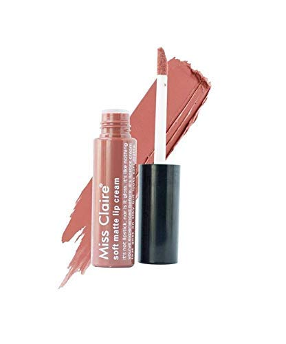 Miss Claire Soft Matte Lip Cream, 19 Beige, 6 g - shoper2shoper.com