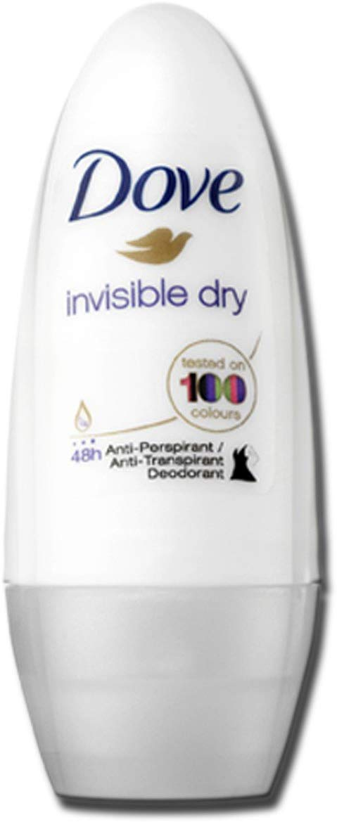 Dove Invisible Dry Antiperspirant Deodorant Roll on - shoper2shoper.com