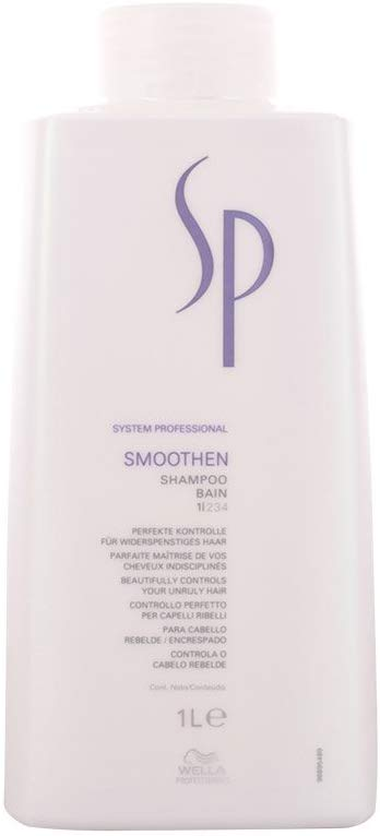 Wella Sp Smoothen Shampoo For Unruly Hair - 1000Ml/33.8Oz - shoper2shoper.com