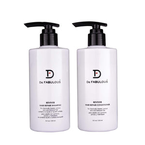 DE FABULOUS HAIR THERAPIES REVIVER HAIR REPAIR SHAMPOO AND CONDITIONER