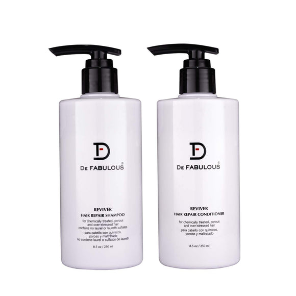 DE FABULOUS HAIR THERAPIES REVIVER HAIR REPAIR SHAMPOO AND CONDITIONER - shoper2shoper.com