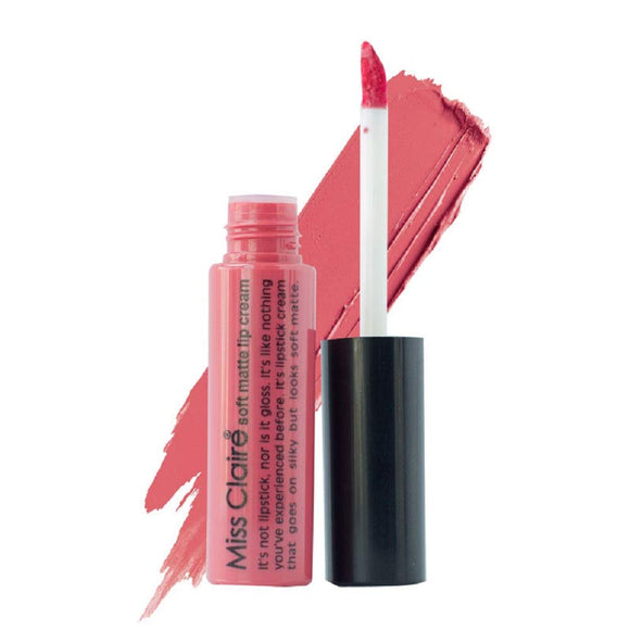 Miss Claire Soft Matte Lip Cream, 20 Pink, 6 g - shoper2shoper.com