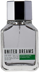 United Colors of Benetton Dreams Aim High Perfume for Men -100 ml - shoper2shoper.com