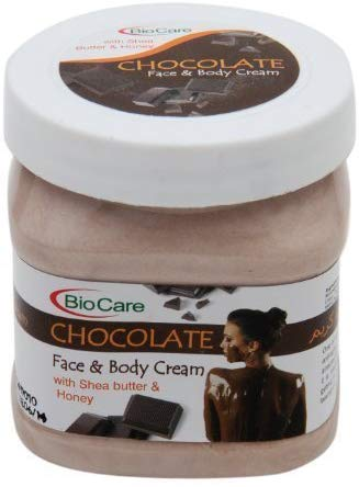 BioCare Face and Body Cream, Chocolate, 500ml - shoper2shoper.com