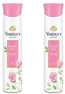 Yardley English Rose Deo Spray (Pack of 2) 150 ml - shoper2shoper.com