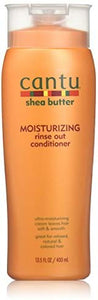 Cantu Shea Butter Moisturizing Rinse Out Conditioner - 13.5 Fl Oz - shoper2shoper.com