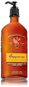 Bath & Body Works Aromatherapy HAPPINESS - BERGAMOT & MANDARIN Body Lotion 6.5 oz - shoper2shoper.com