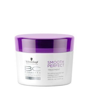 Schwarzkopf Professional BC Hair Therapy Smooth Perfect Treatment with Ayur Sunscreen (200 + 50 ml)