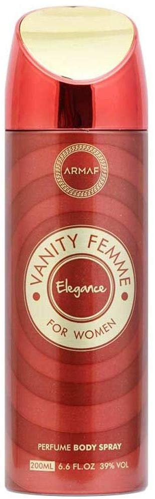 Armaf Vanity Femme Elegance Perfume Body Spray for Women - 200ml - shoper2shoper.com
