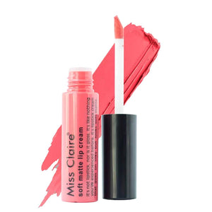 Miss Claire Soft Matte Lip Cream, 34 Orange, 6 g - shoper2shoper.com