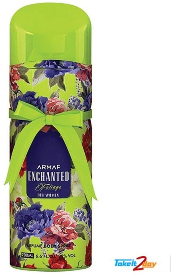 Armaf Enchanted Foliage Deodorant Body Spray For Women 200 ML - shoper2shoper.com