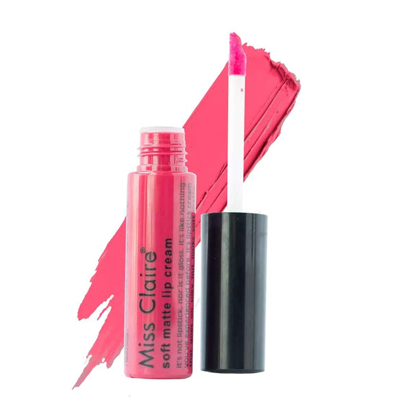 Miss Claire Soft Matte Lip Cream, 36 Orange, 6 g - shoper2shoper.com