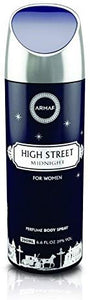 Armaf High Street Mid Night Deodorant Body Spray For Women 200 ML - shoper2shoper.com