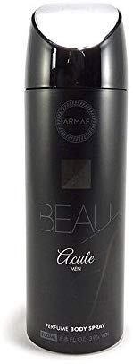Armaf Beau Acute Deodorant Body Spray For Men 200 ML - shoper2shoper.com