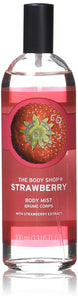 The Body Shop Body Mist, Strawberry, 100ml - shoper2shoper.com