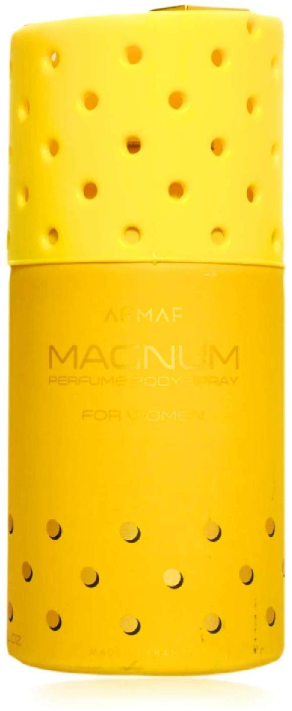 Armaf Magnum Yellow A11 Body Spray For Women 250 ml - shoper2shoper.com