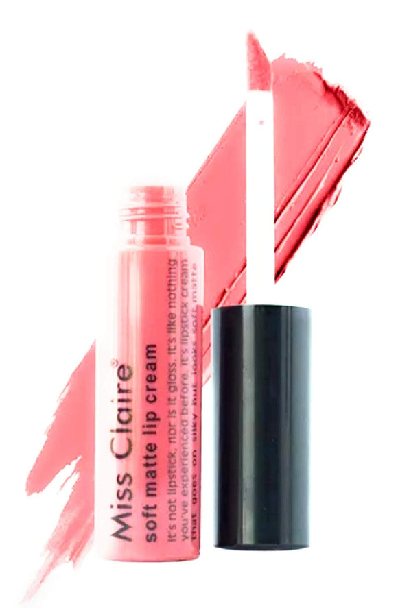 Miss Claire Soft Matte Lip Cream, 40 Pink, 6 g - shoper2shoper.com