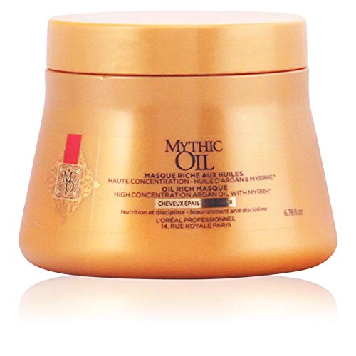 L'óreal Mythic Oil Mask cwith Argan Oil for Thickness Hair - 200 ml - shoper2shoper.com