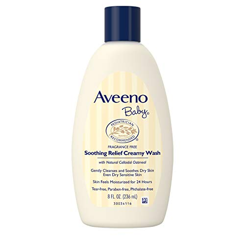 Aveeno Baby Soothing Relief Creamy Wash for Dry Skin (236ml) - shoper2shoper.com