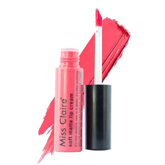 Miss Claire Soft Matte Lip Cream, 41 Pink, 6 g - shoper2shoper.com