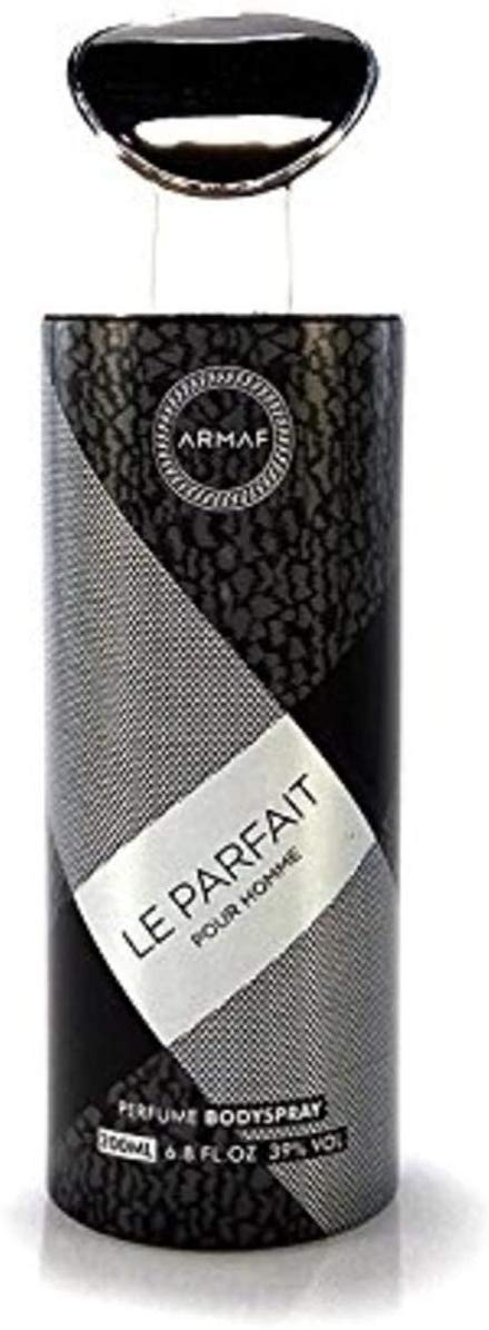 Armaf Le Parfait Pour Homme Perfume Body Spray for Men - 200ml - shoper2shoper.com