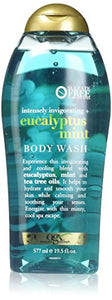OGX Intensely Invigorating + Eucalyptus Mint Body Wash, 19.5 Ounce - shoper2shoper.com