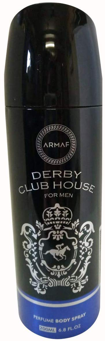 ARMAF Derby Club HouseMen's Perfume Body Spray 200 ML - shoper2shoper.com