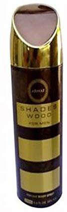 Armaf Shades Wood Deodorant Spray For Men - 200ml - shoper2shoper.com