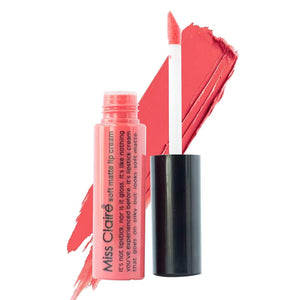 Miss Claire Soft Matte Lip Cream, 45 Red, 6 g - shoper2shoper.com