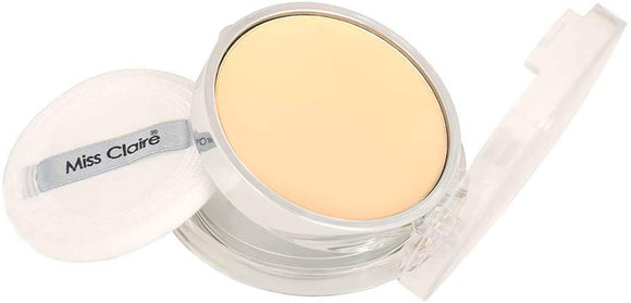 Miss Claire Natural Mineral Compact Powder, 33 Brown, 7 g - shoper2shoper.com