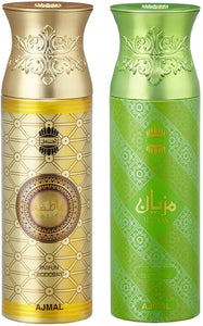 Ajmal Aatifa and Mizyaan Deodorants for Men and Women - Pack of 2 - shoper2shoper.com