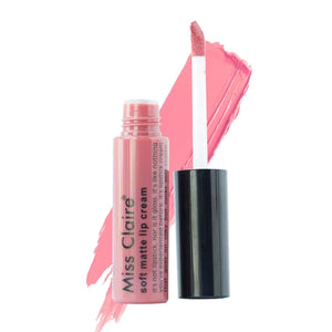 Miss Claire Soft Matte Lip Cream, 48 Pink, 6 g - shoper2shoper.com