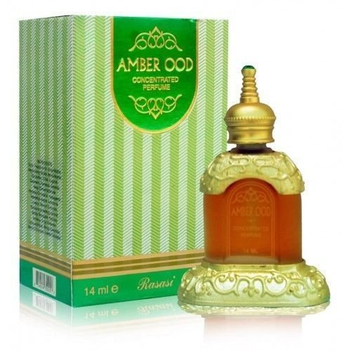 Rasasi Amber Ood Concentrated Perfume Attar - 14 Ml - shoper2shoper.com